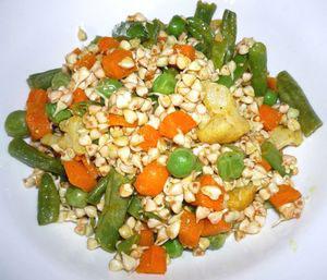 польза пророщенной зеленой гречке в салате