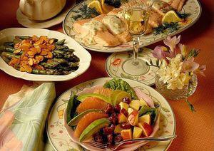 Пример меню питания при холестериновой диете