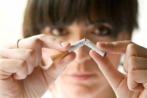 Как бросить курить дома