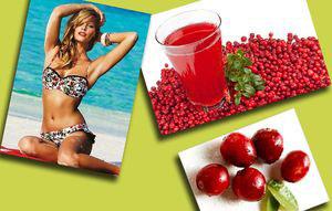 Клюквенный напиток для похудения