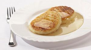 Сырники с молочным соусом