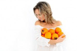 Польза хурмы для женщин