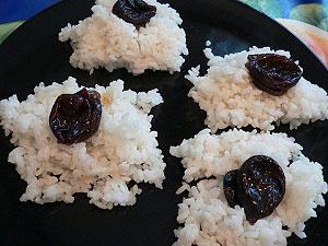 Рецепт риса с черносливом