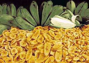 Польза и вред банановых чипсов