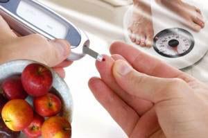 Диета при диабете 2 степени для людей с лишним весом