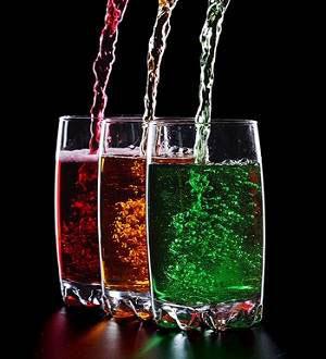 Фруктоза в газированных напитках