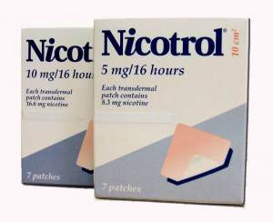 Пластырь от курения Никотрол