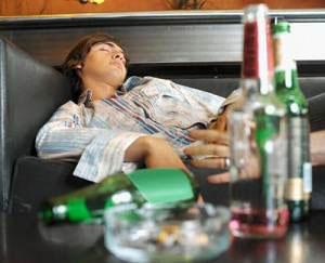 Интоксикация алкоголем: симптомы
