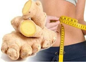 Использование корня имбиря для похудения