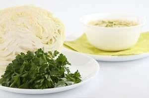 Меню диеты на капустном супе