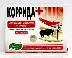 Таблетки против курения Коррида
