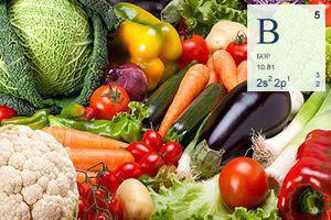бор и его содержание в продуктах питания