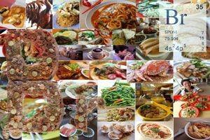 польза и содержание брома в продуктах питания
