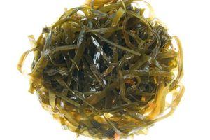морская капуста - продукты питания с бромом