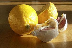 рецепт очищения с чесноком и лимоном