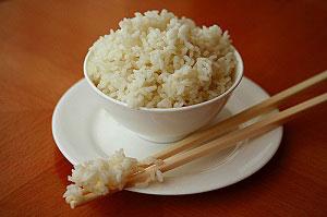 Рис для очищения организма от солей